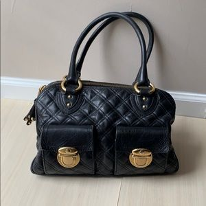 Authentic Marc Jacobs quilted chanel buckle bag
